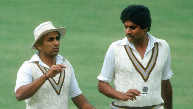 sunil gavaskar kapil dev  of  India in test cricket KreedOn