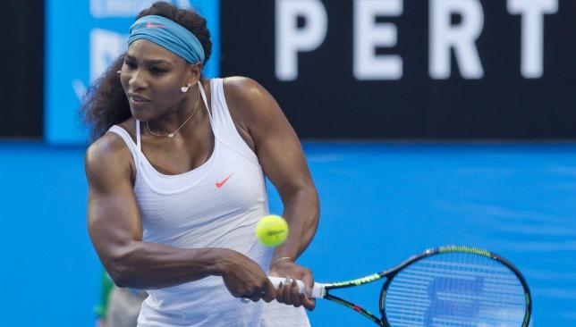 Serena Williams will lead an all-star field in Dubai.