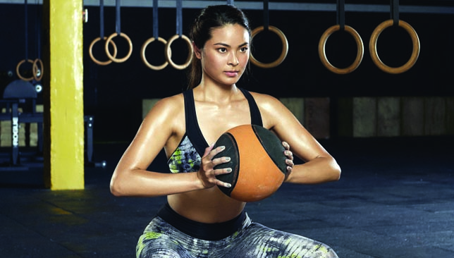 Push and pull: HIIT and crossfit training are options available.