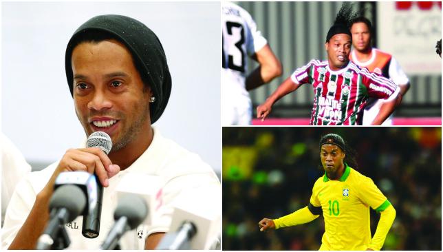 Magician: Ronaldinho.