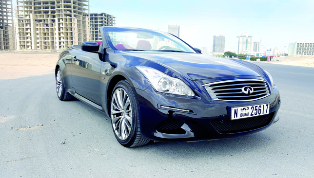 car of the week february 19 infiniti q60 convertible article sport360. Black Bedroom Furniture Sets. Home Design Ideas