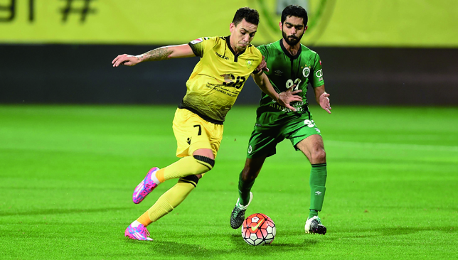 Caio scored 66 goals in 113 AGL games for Wasl.