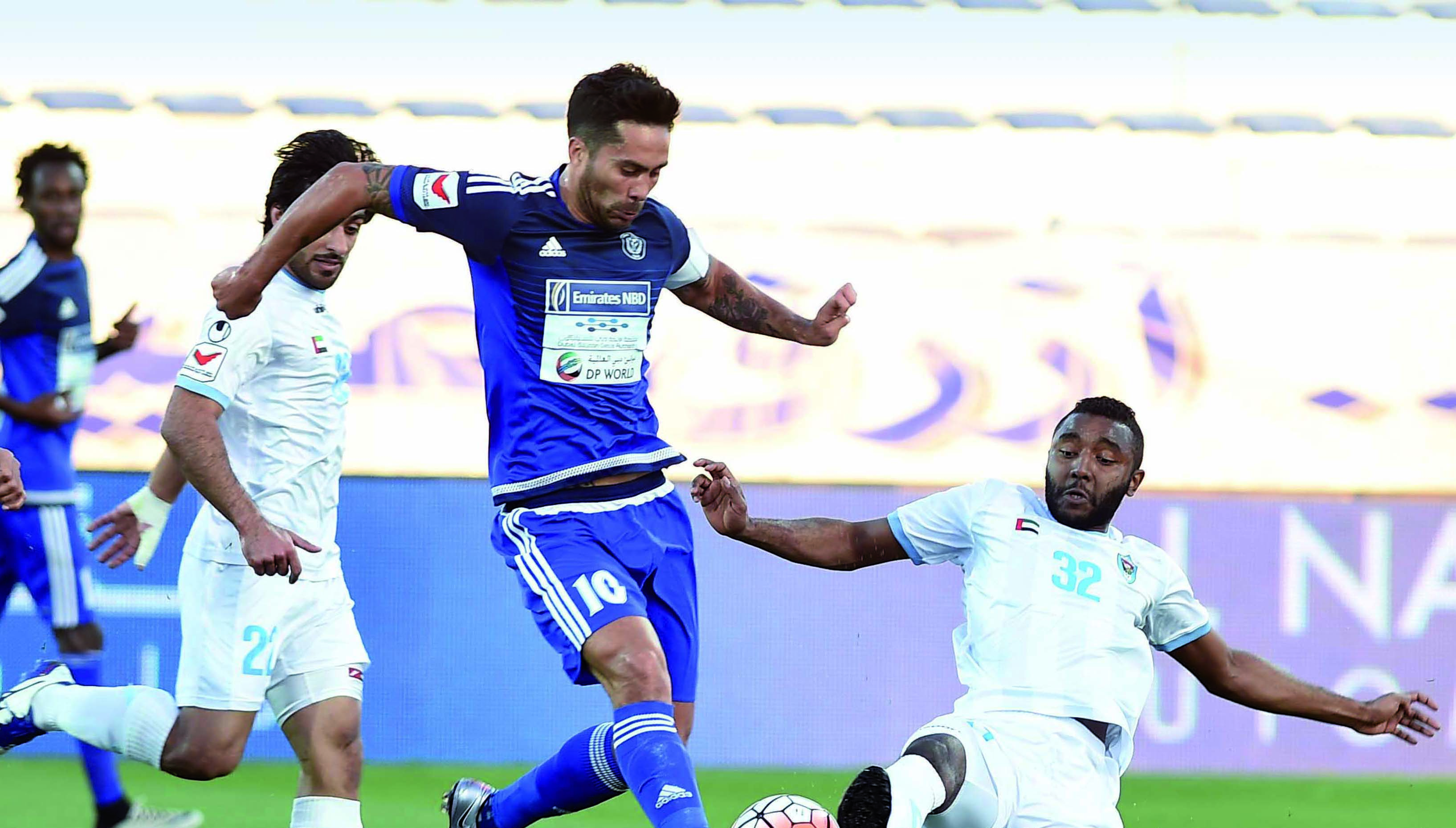 Hot Chile: Al Nasr captain Luis Jimenez is in confident mood ahead of their ACL opener.