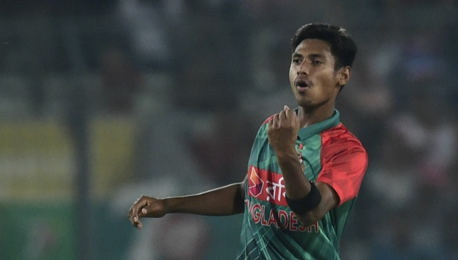 Bangladesh seamer Mustafizur Rahman.