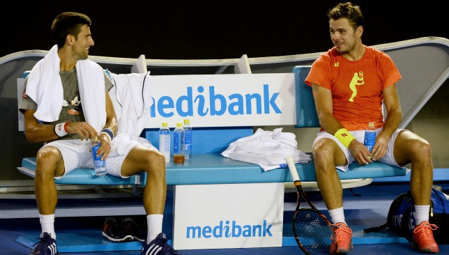 Djokovic and Wawrinka have a mutual respect for each other on and off of the court.