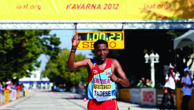 Top gun: Zersenay Tadese is the reigning world half marathon champion.