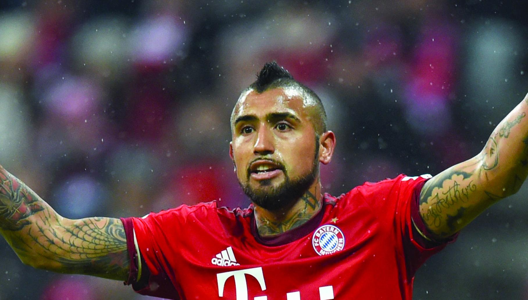 Bayern Munich s Arturo Vidal has mixed feelings about playing