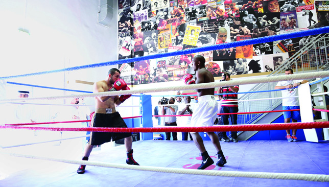 Bring it on: The Round 10 Club is the perfect place to train specifically for boxing.