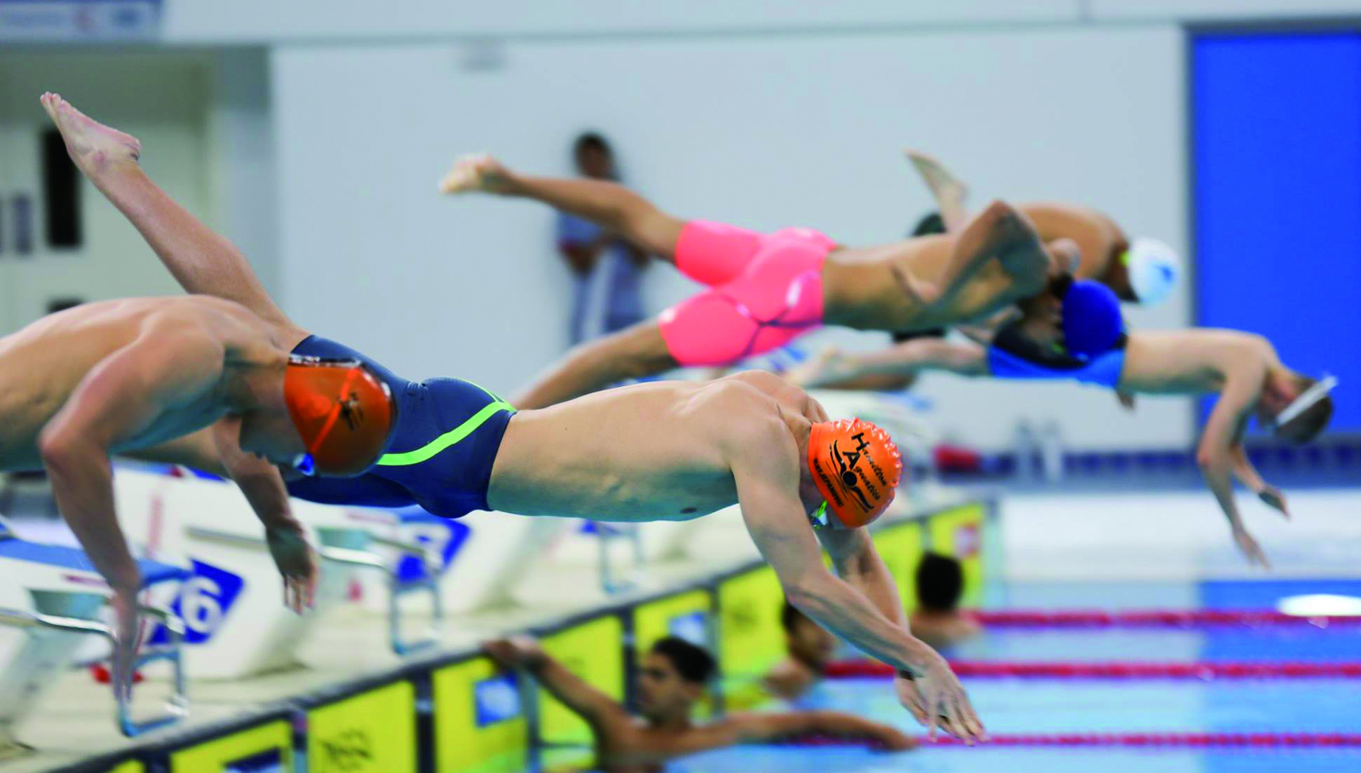 Olympians velimir stjepanovic and ivan lender ignite - Swimming pools in hamilton ontario ...