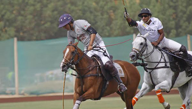 Edrees Polo's Juan Ruíz Guiñazú was in fine form.