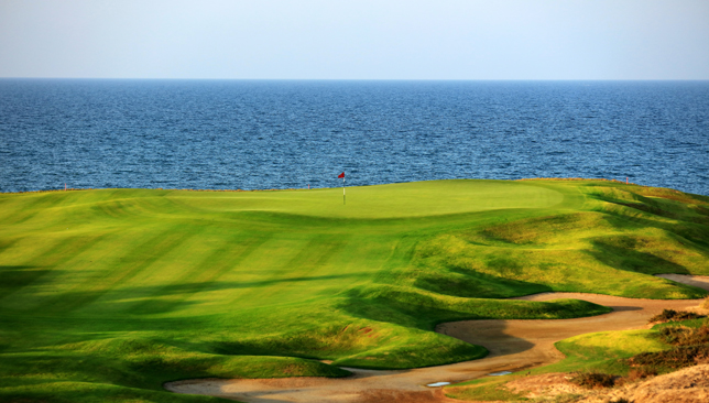 Al Mouj Golf is the venue for the Oman Open.