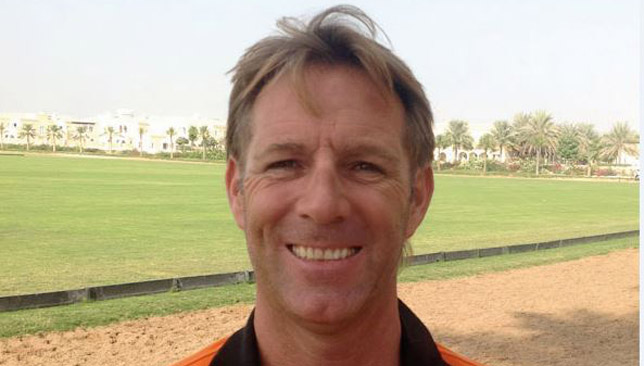 Steve Thompson, head coach and founder of Dubai Polo Academy.