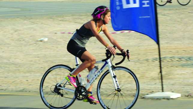 The event will be held at the District One cycling and running track near Meydan.