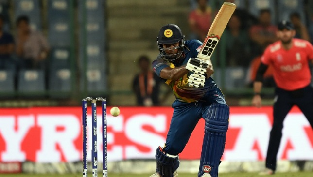 Angelo Mathews will lead Sri Lanka out