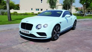 The Bentley continental GT V8 S earns a nine out of 10 rating.