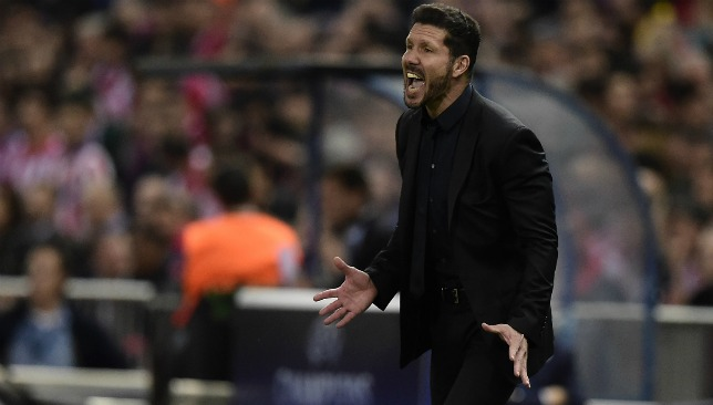 Diego Simeone is said to be peaking PSG's interest.