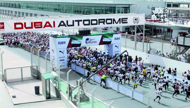 There is time: You can still sign up for the May 8 run at Dubai Autodrome.