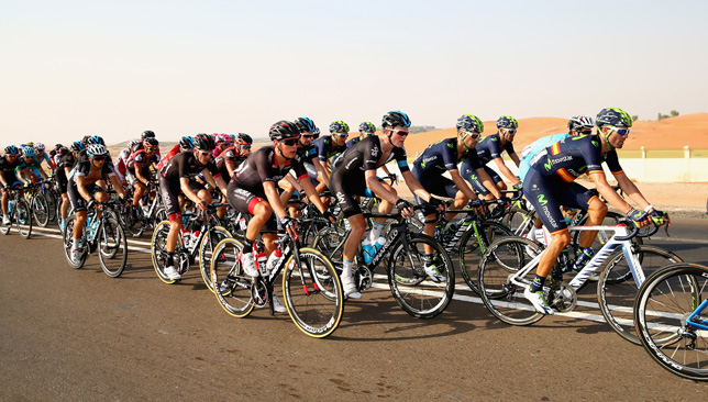 The Abu Dhabi Tour will take place from October 20-23.