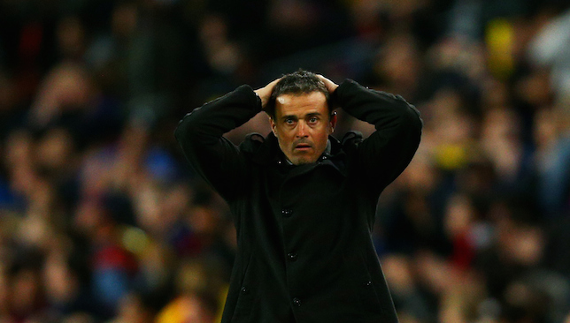 Concerns: Luis Enrique.