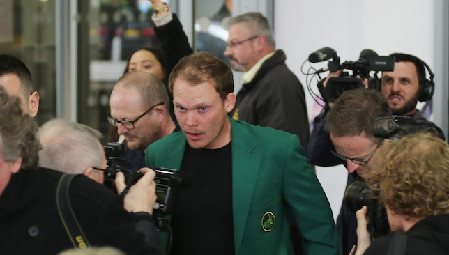Heading stateside: Danny Willett.