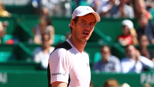 Grumbles: Andy Murray.