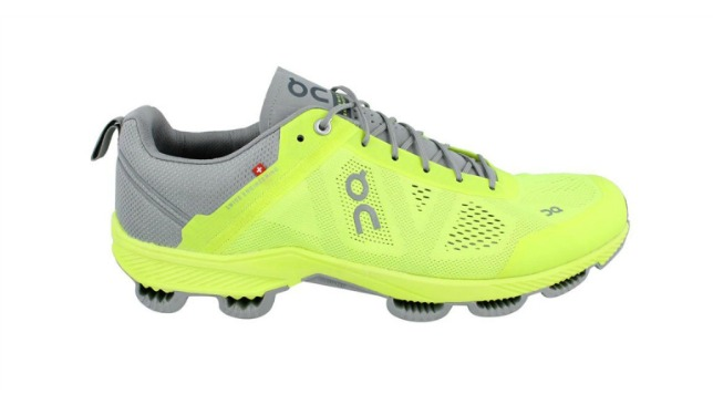 On Cloudsurfer – Men's Neon & Grey