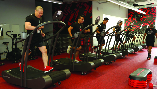 Fit with HIIT : Woodway's non-motorised treadmills at Fitness First's XFit.