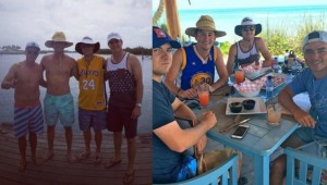 Some of golf's top stars have been letting off steam in the Bahamas.