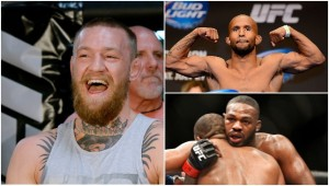 Conor McGregor, Demetrious Johnson and Jon Jones feature in this week's podcast.