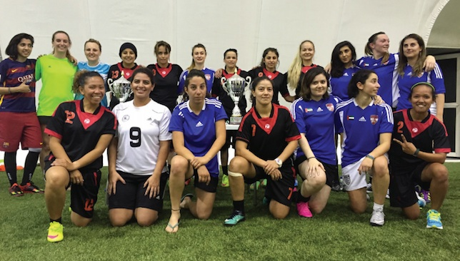 Rapid rise: The women's game is growing in the UAE.