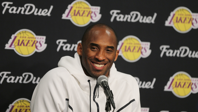 VIDEO: Departing LA Lakers star Kobe Bryant has fun with a ...