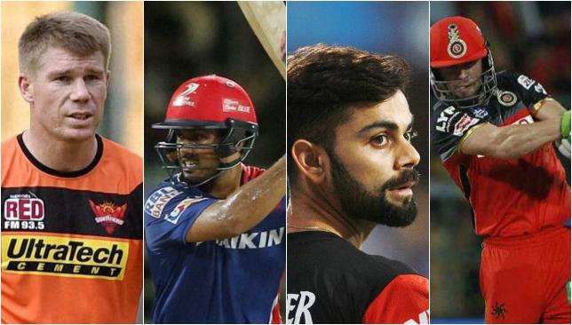 Top five individual batting performances
