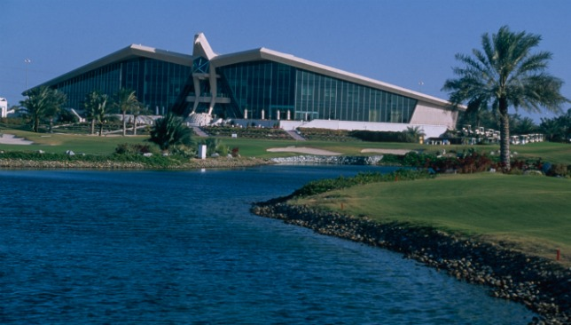 Abu Dhabi Golf Club.