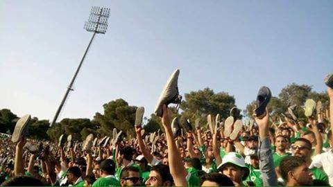 Al-Wehdat fans: Not happy with their team's displays.