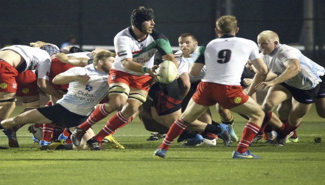 Abu Dhabi Saracens No8 Jaen Botes made his UAE debut on last year's tour