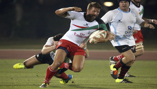 Welshman Ian Overton starred for UAE's sevens side this season