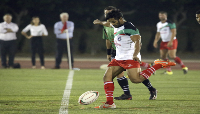 Jebel Ali Dragons' Imad Reyal will bring craft to the back line