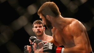 Rivalry renewed: Michael Bisping and Luke Rockhold.