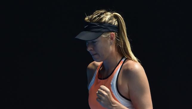 Hopeful: Maria Sharapova.