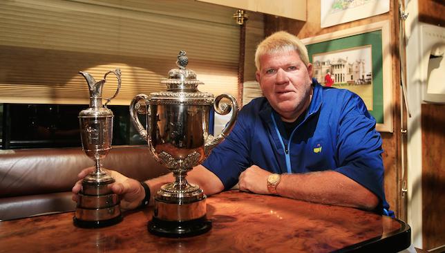 Golfing icon: John Daly.