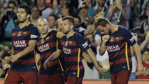 Top again: Barcelona.
