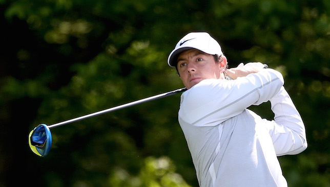 Back in form: Rory McIlroy.