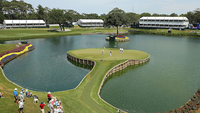 Famous: 17th at Sawgrass.