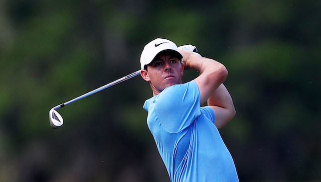 Sublime: Rory McIlroy.