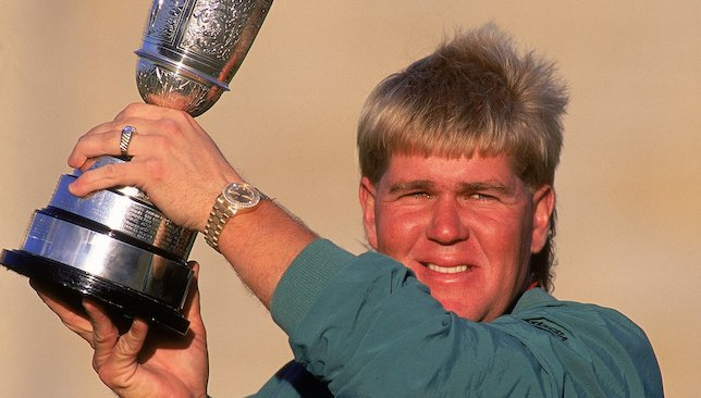 Winning the Open: 1995.