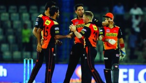 Champions: Sunrisers showed great resolve to win the IPL title.