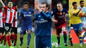 This week's top five players in La Liga.