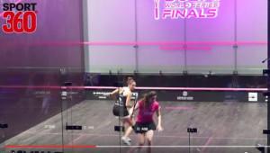 Nour El Sherbini beat Camille Serme of France.