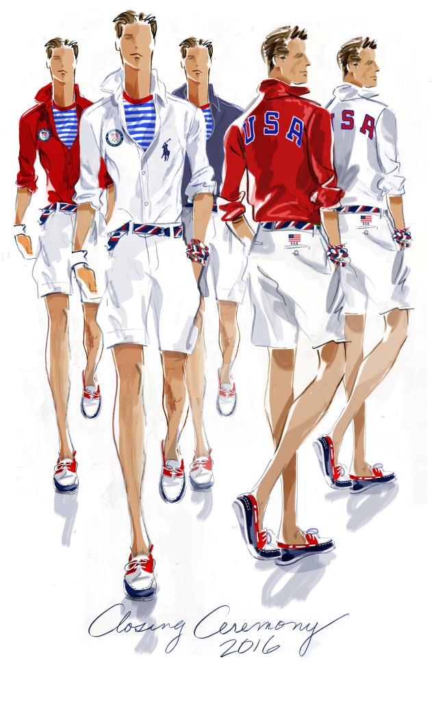 Olympics Closing Uniform, Men's