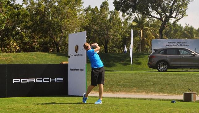 Porsche sponsor the event.